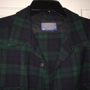 Pendleton virgin wool shirt size large